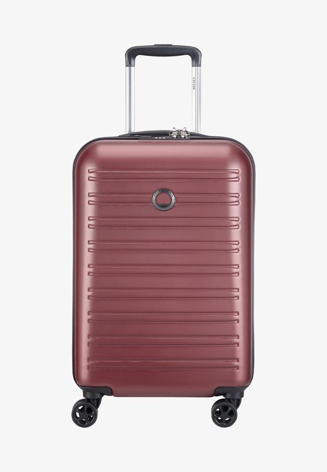 SEGUR  - Valise à roulettes - violet
