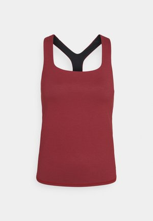 SUPER SCULPT YOGA  - Sports shirt - renaissance red marl