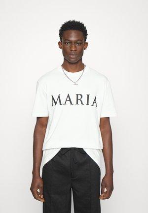 MARIA UNISEX - T-shirt con stampa - white