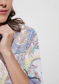 Eterna - MODERN CLASSIC - Button-down blouse - yellow/blue - 2