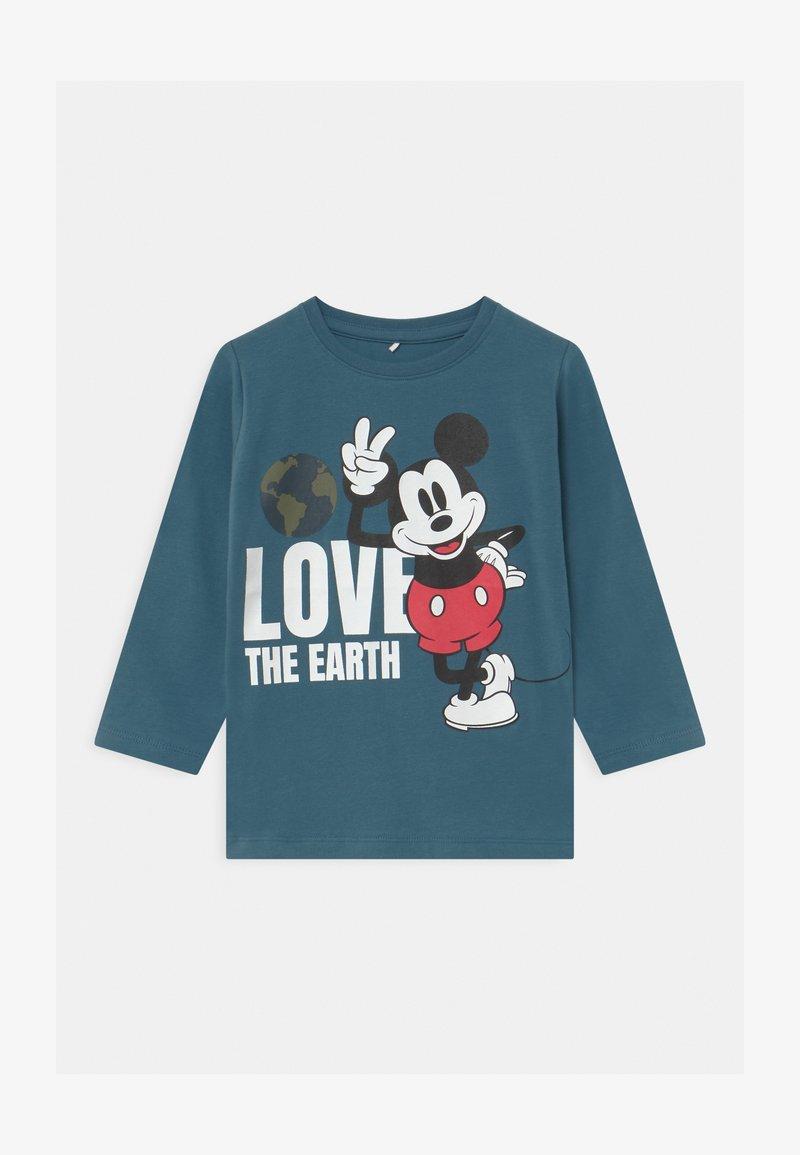 Name it - DISNEY MICKEY MOUSE REYNOLD  - Langærmede T-shirts - real teal