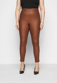 ONLY Carmakoma - CARARGAIN - Leggings - argan oil - 0