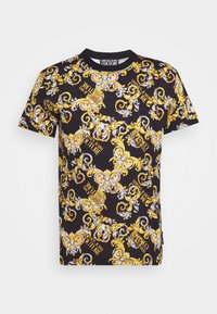 Versace Jeans Couture - PRINT NEW LOGO - T-shirt con stampa - nero - 4