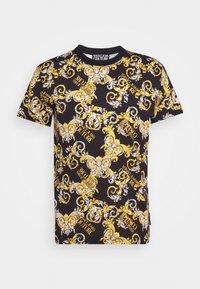 Versace Jeans Couture - PRINT NEW LOGO - T-shirt imprimé - nero - 4