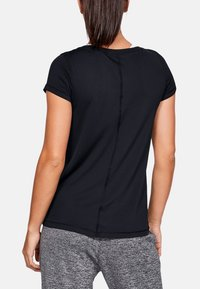 Under Armour - HG Armour SS - T-shirts - black - 2
