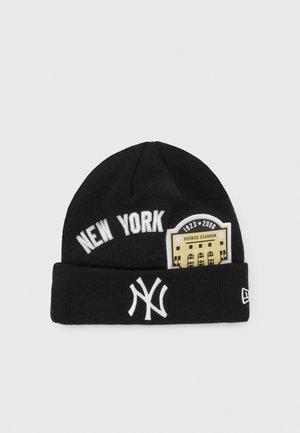 NEW YORK YANKEES MULTI PATCH CUFF UNISEX - Čepice - black