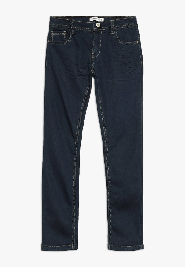 NKMROBIN DNMTHAYER PANT - Jeans slim fit - dark blue denim