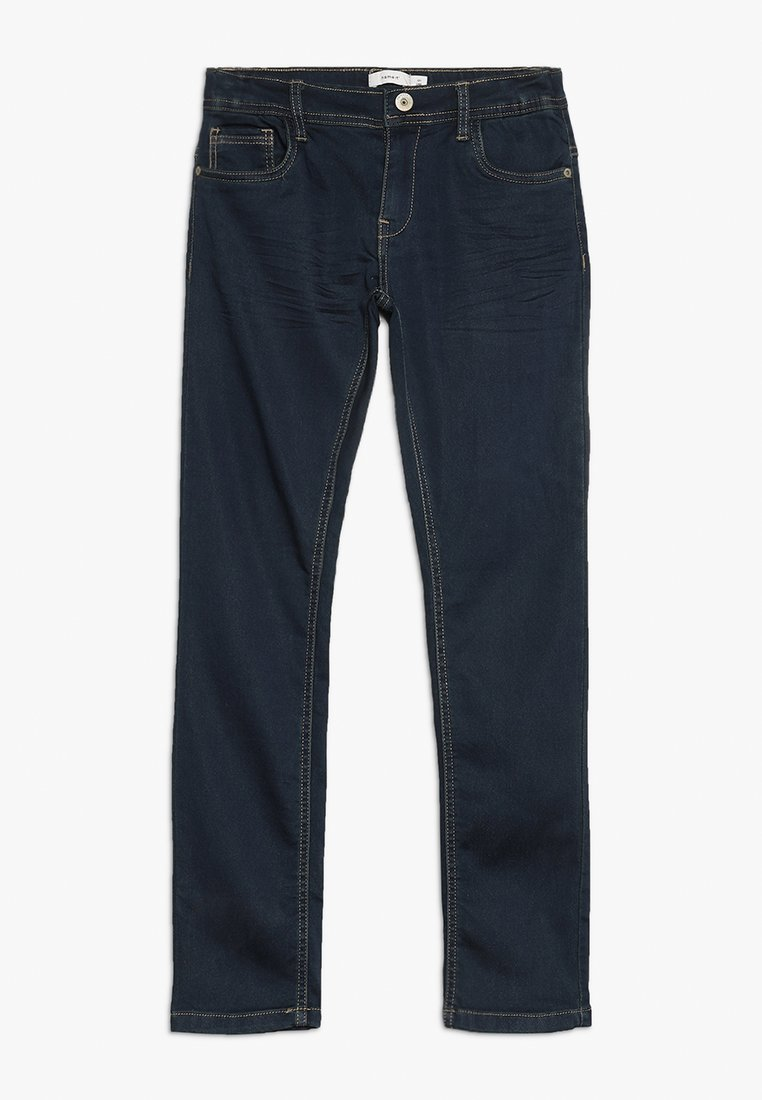 Name it - NKMROBIN DNMTHAYER PANT - Slim fit jeans - dark blue denim