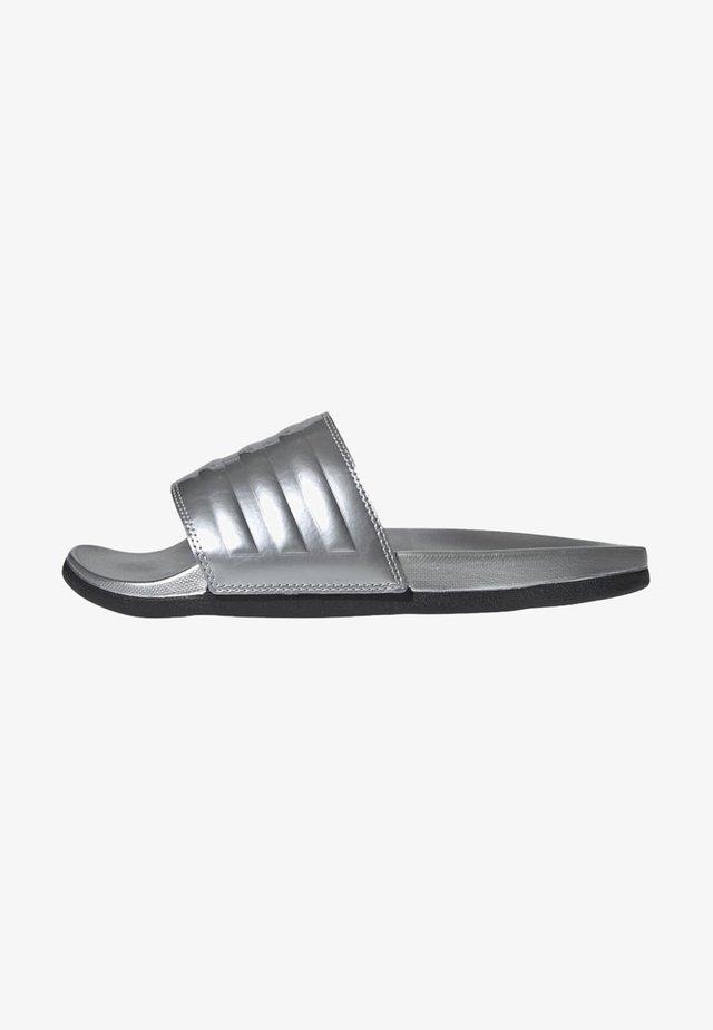 Sandales de bain - silver