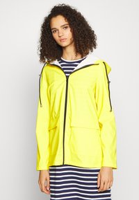 PIECES Tall - PCRARNA RAIN JACKET - Parka - empire yellow - 0