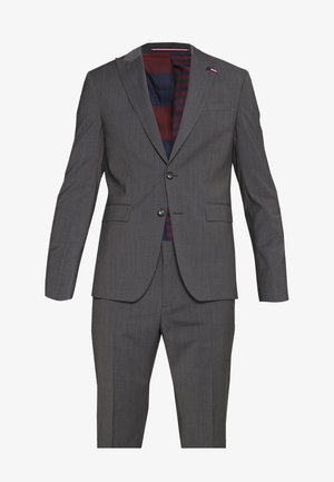 SLIM FIT PEAK LAPEL SUIT - Suit - grey