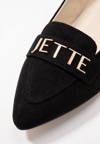 JETTE - Ballet pumps - black - 2