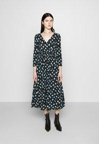 ONLY - ONLPELLA DRESS - Korte jurk - black/multi-colour - 0