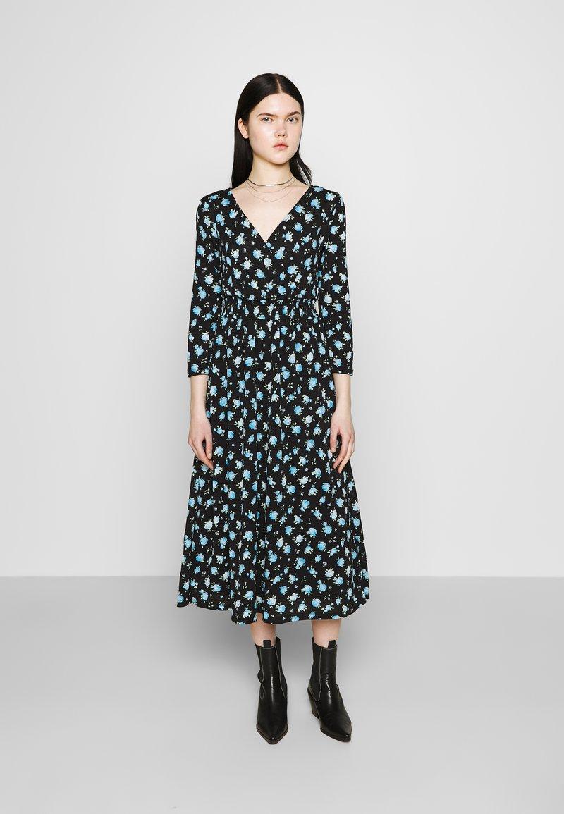 ONLY - ONLPELLA DRESS - Korte jurk - black/multi-colour
