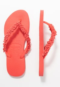 Havaianas - SLIM FRINGE - Pool shoes - coralnew - 4