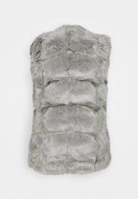 Missguided - BUBBLE GILET - Waistcoat - light grey - 1
