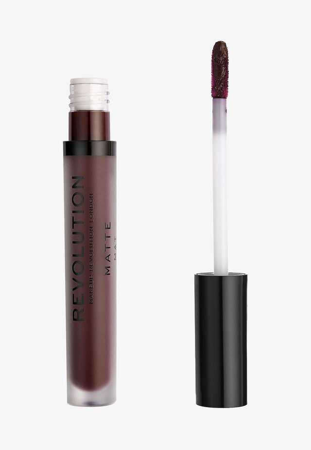 MATTE LIP - Vloeibare lippenstift - plum
