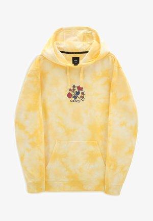 MN TIE DYE PO - Luvtröja - mellow yellow/tie dye