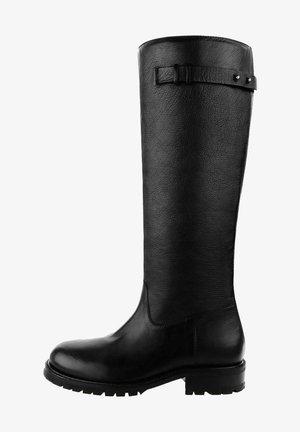ABANA - Vysoká obuv - black