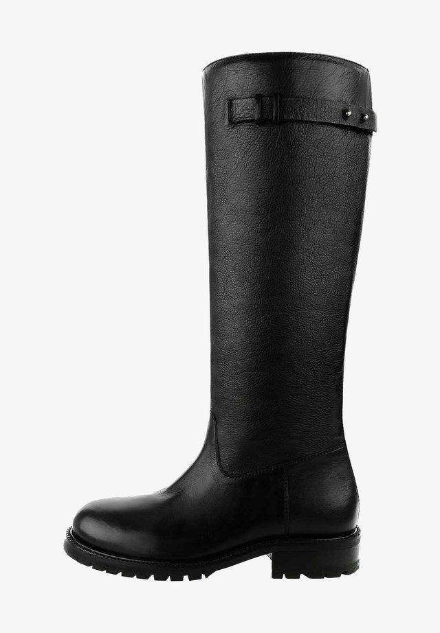 ABANA - Stivali alti - black