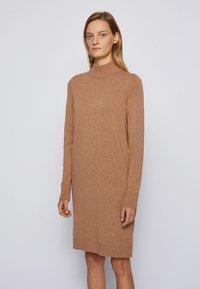 BOSS - C_FABELLETTA - Day dress - light brown - 2