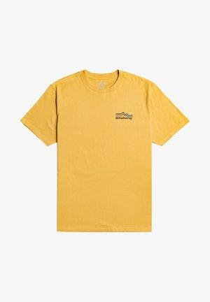 DENVER  - Print T-shirt - yellow