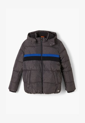 MIT STREIFEN-DETAIL - Winter jacket - dark grey