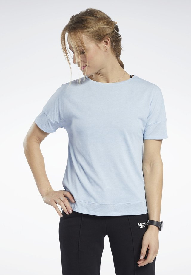 ACTIVCHILL+COTTON TEE - Camiseta básica - blue
