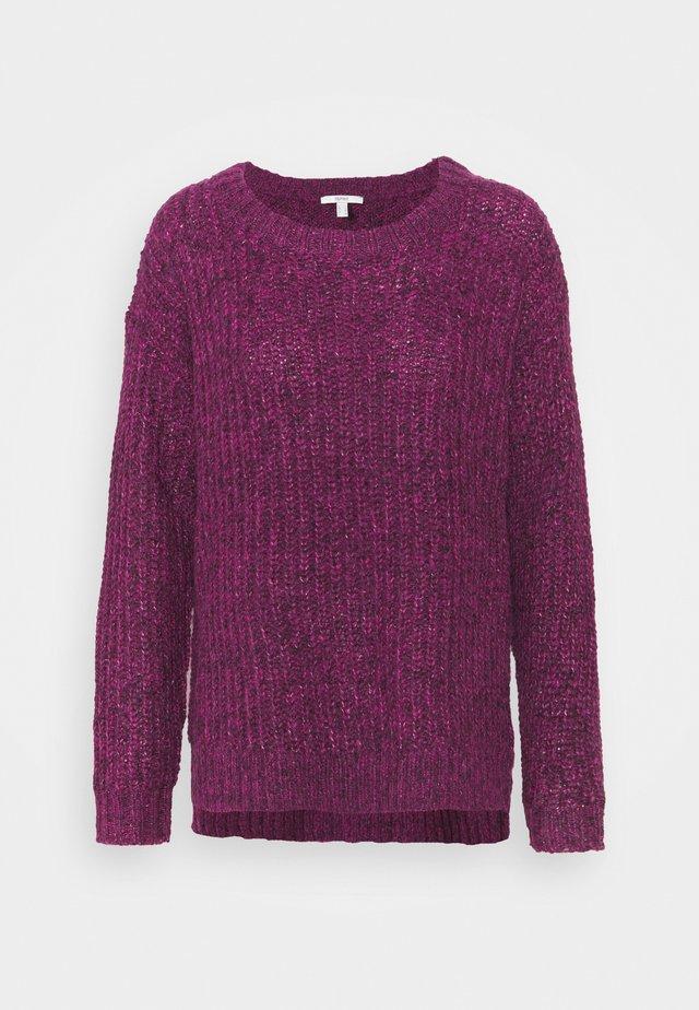Sweter - dark pink