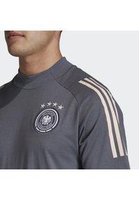 adidas Performance - DEUTSCHLAND DFB TEE - Print T-shirt - onix - 3