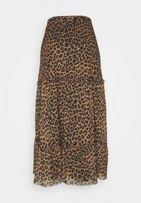 EDITED - HINA SKIRT - Maxi skirt - brown - 1
