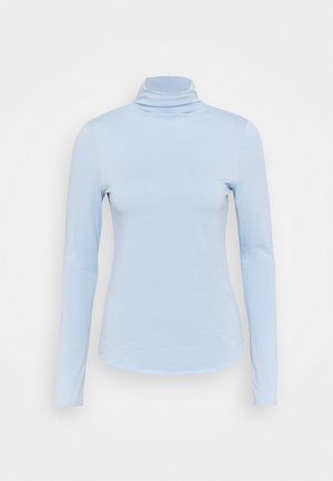 Topper langermet - bleach blue