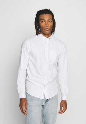 JAY - Overhemd - white/grey
