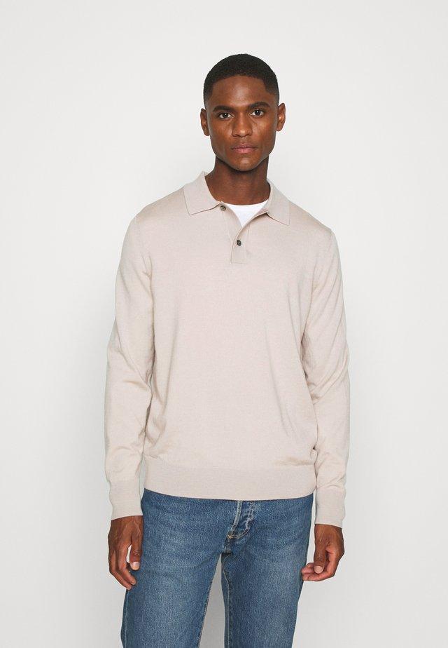 JUMPER - Stickad tröja - beige dusty light