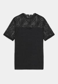 Pieces - PCPINA - Print T-shirt - black - 0