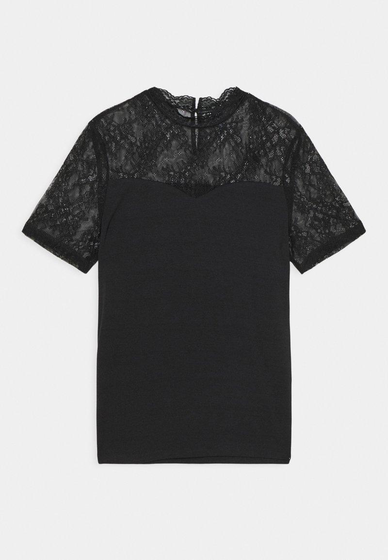 Pieces - PCPINA - Print T-shirt - black