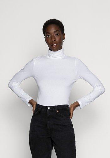 BASIC - Topper langermet - white