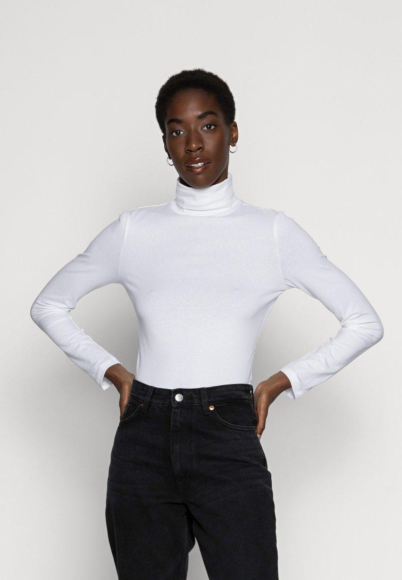 Anna Field - BASIC - T-shirt à manches longues - white