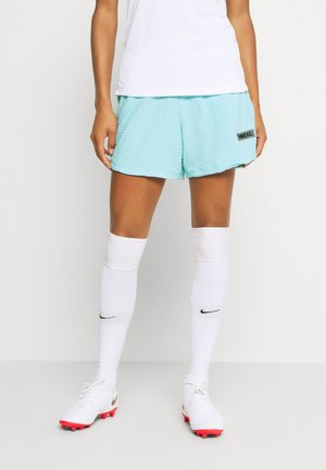SHORT - Pantalón corto de deporte - glacier ice/dk grey heather/(black)