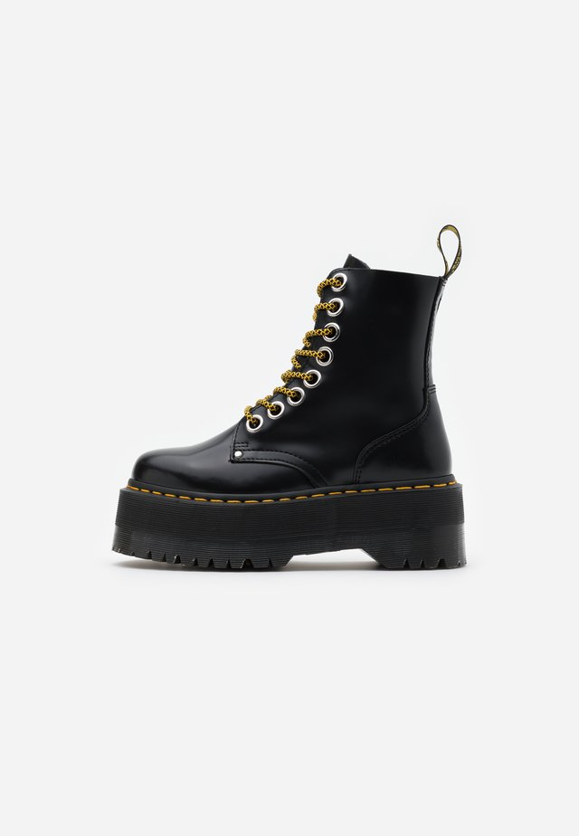 JADON MAX - Bottines à plateau - black buttero
