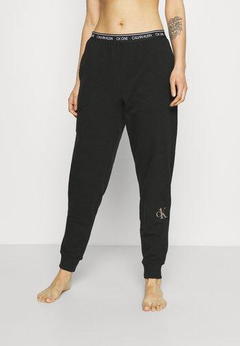 GLISTEN JOGGER - Bas de pyjama - black