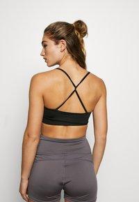 South Beach - STRAP BRA - Sports bra - black - 2
