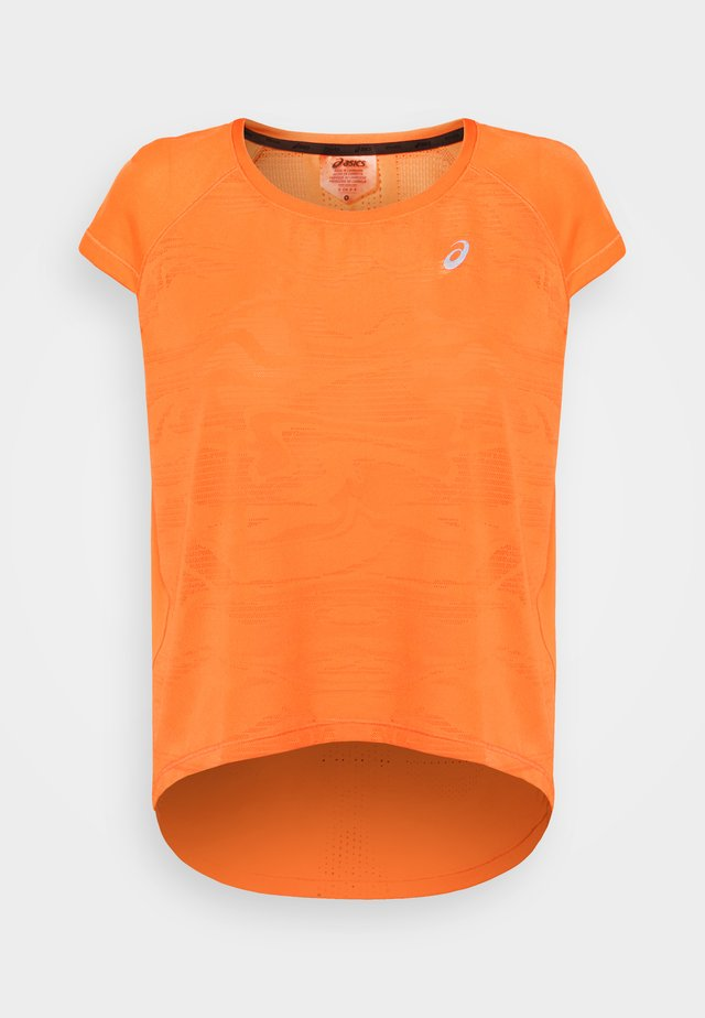 VENTILATE CROP - Basic T-shirt - sun peach