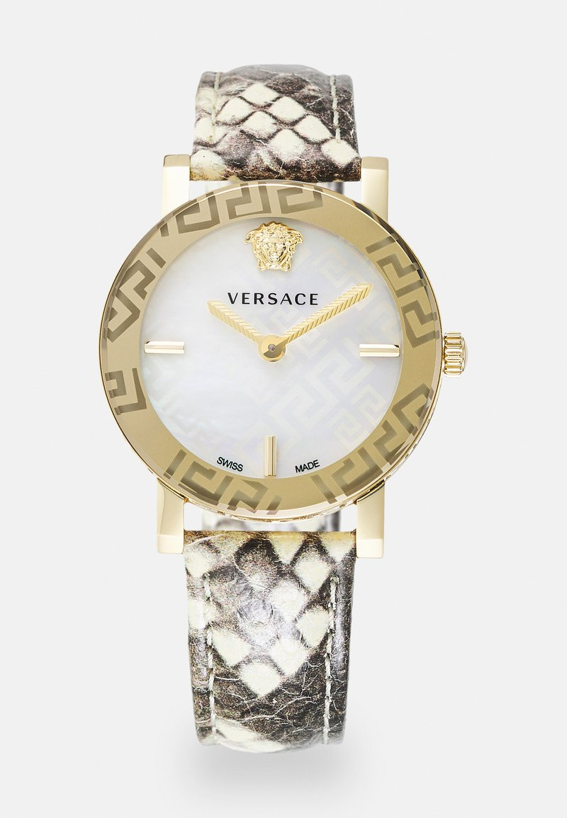 Versace Watches - GRECA - Hodinky - gold-coloured/white