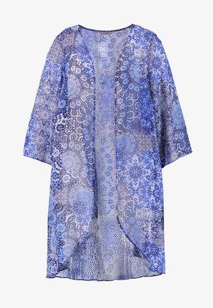 TILE KIMONO - Summer jacket - blue