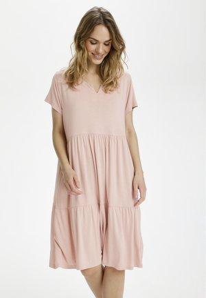 KAPETRA  - Jersey dress - misty rose