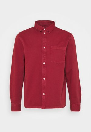 WISE WASHED SHIRT - Shirt - red