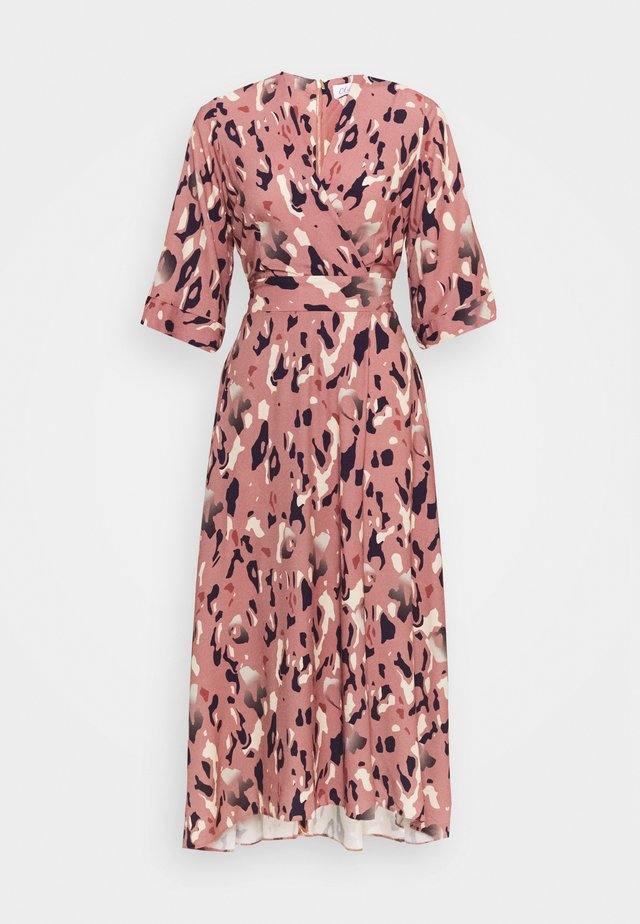 A-LINE MIDI DRESS - Korte jurk - pink