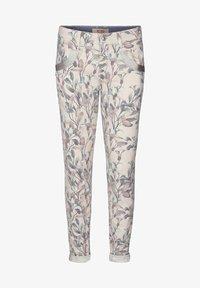 Mos Mosh - Straight leg jeans - blue flower - 0