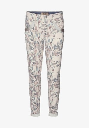 Straight leg jeans - blue flower